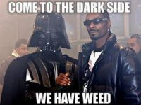 Come To The Dark Side darth snoop