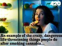 crazy dangerous life-threatening smoking marijuana
