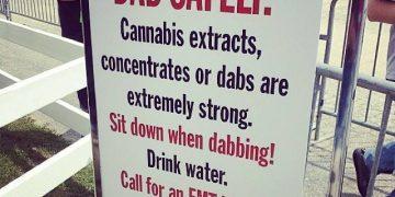 dab safely warning sign dabbing