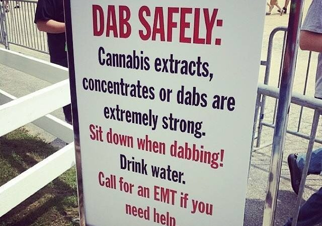 Dab Safely: Cannabis concentrates, extracts or dabs are extremley strong