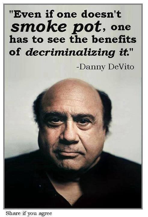 Danny Devito Quotes - danny-devito-marijuana-pot-quote