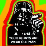 weak blunts old man