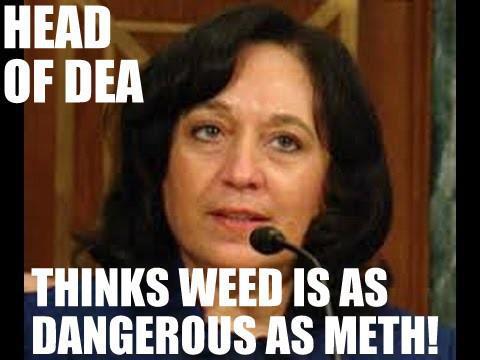 DEA Chief thinks weed is as dangerous as meth