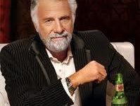 I don't always smoke weed most interesting man