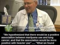 cannabis lung cancer donald tashkin