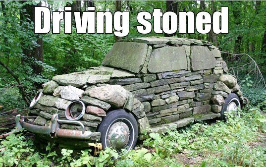 I Love Driving Stoned