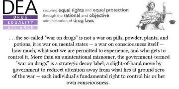 darryl bickler drug equality quote