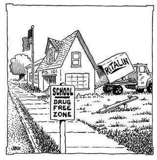 ritalin for children Drug Free Zone