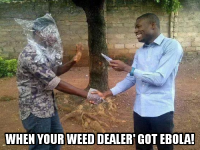 dealer contracted the ebola virus