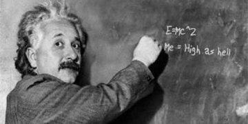 Einstein smoke weed every day