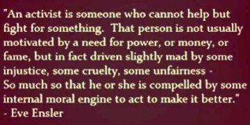 Eve Ensler activist quote marijuana emme