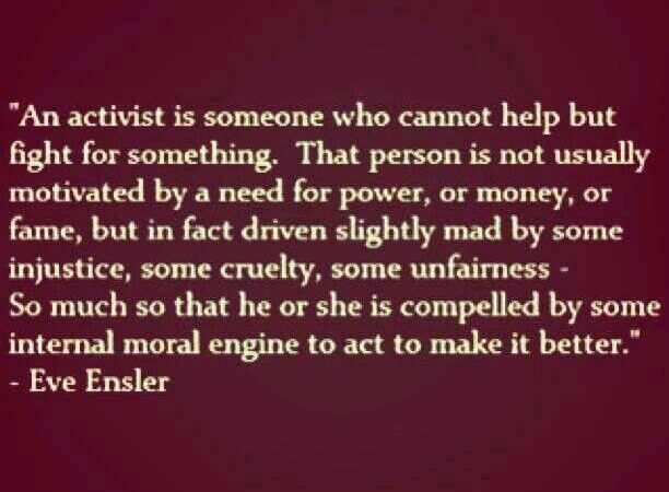 Eve Ensler activist quote