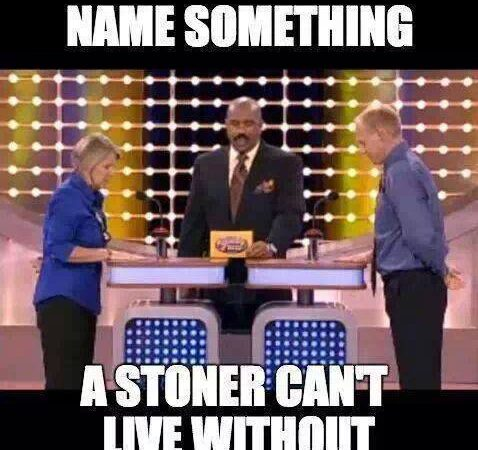 Name something a stoner can't live without?