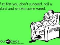 if at first you dont succeed weed blunt