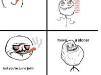 forever stoned rage comic