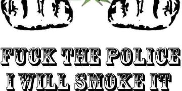 fuck the police weed smokers meme