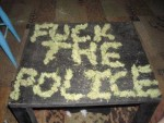 Fuck The Police marijuana meme