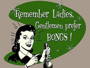 gentlemen prefer bongs