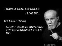 george carlin government lies quote