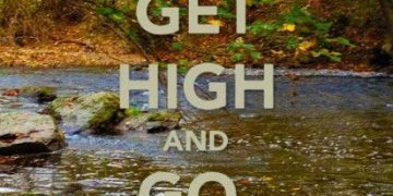 get high and go exploring