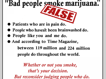 bad people smoke weed