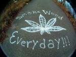 Smoke weed everyday graffiti graffiti