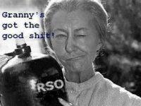 rick simpson cnanabis oil granny clampet meme