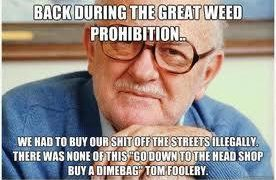 weed prohibition old timer