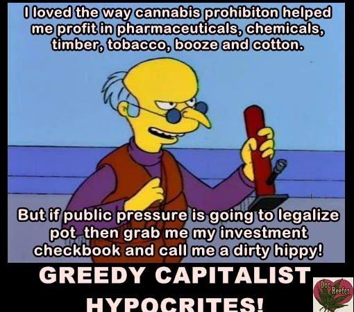 Greedy capitalist hypocrites!
