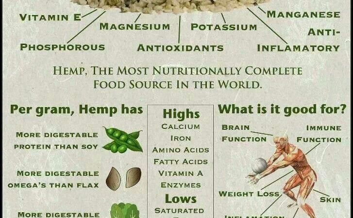Hemp seed info