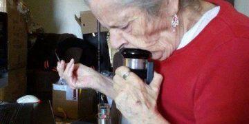 High till I die weed smoking bong granny