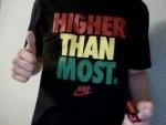 Higher Than Most T-Shirt meme