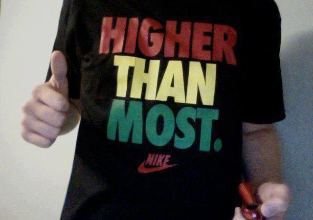 Higher Than Most T-Shirt