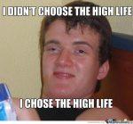 highlife really high guy meme