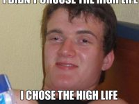 highlife really high guy meme