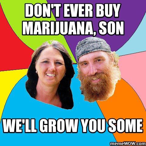 never buy marijuana grow