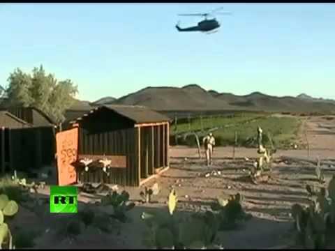 Video of giant marijuana plantation in Mexico