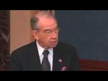 Sen. Charles Grassley anti marijuana