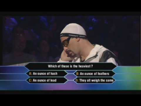 Ali G – Who wants to win an ounce