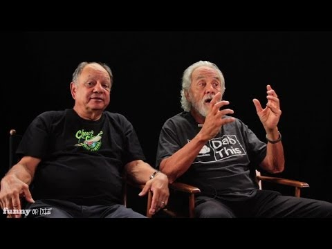 Cheech and Chong Explain 420 'Ancient Aliens' Style