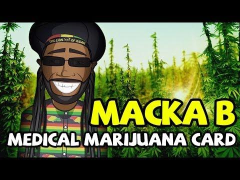 Macka B – Medical Marijuana Card