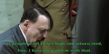 hitler parody 420 birthday