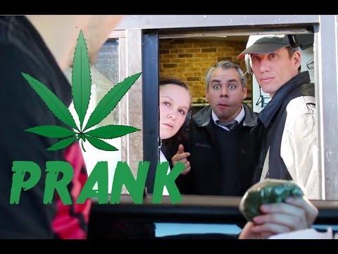 The Drive Through Marijuana Prank