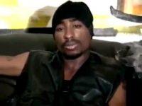 Tupac Shakur smoking blunt