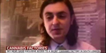 Activist Clark French sky news interview