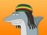 reggae shark animated song