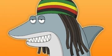 reggae shark animated song