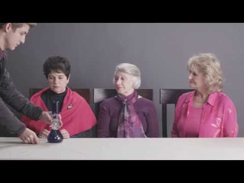 Grannies Smoking Weed for the First Time