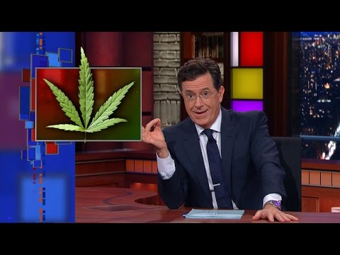 Colbert on The First Church Of Cannabis