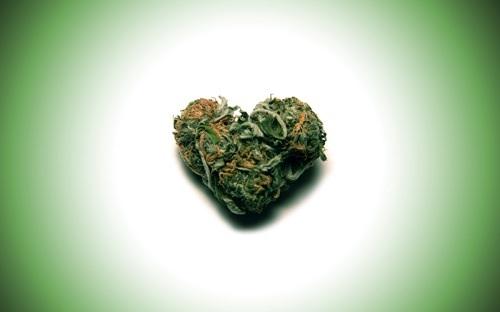 valentines flowers marijuana toker stoner